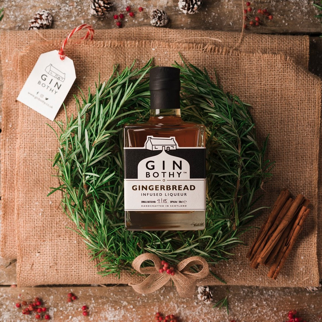 Gin Bothy - Gingerbread Infused Liqueur
