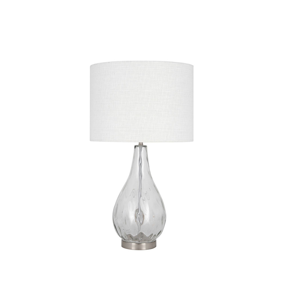 Charlotte Clear Glass Table Lamp