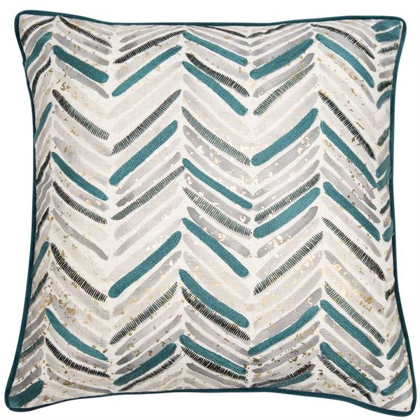 Malini Verdi Teal Cushion