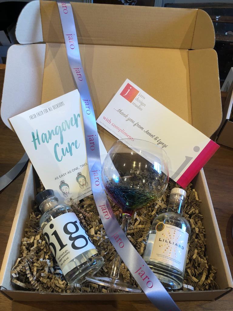 Hangover and Cure Gift Box