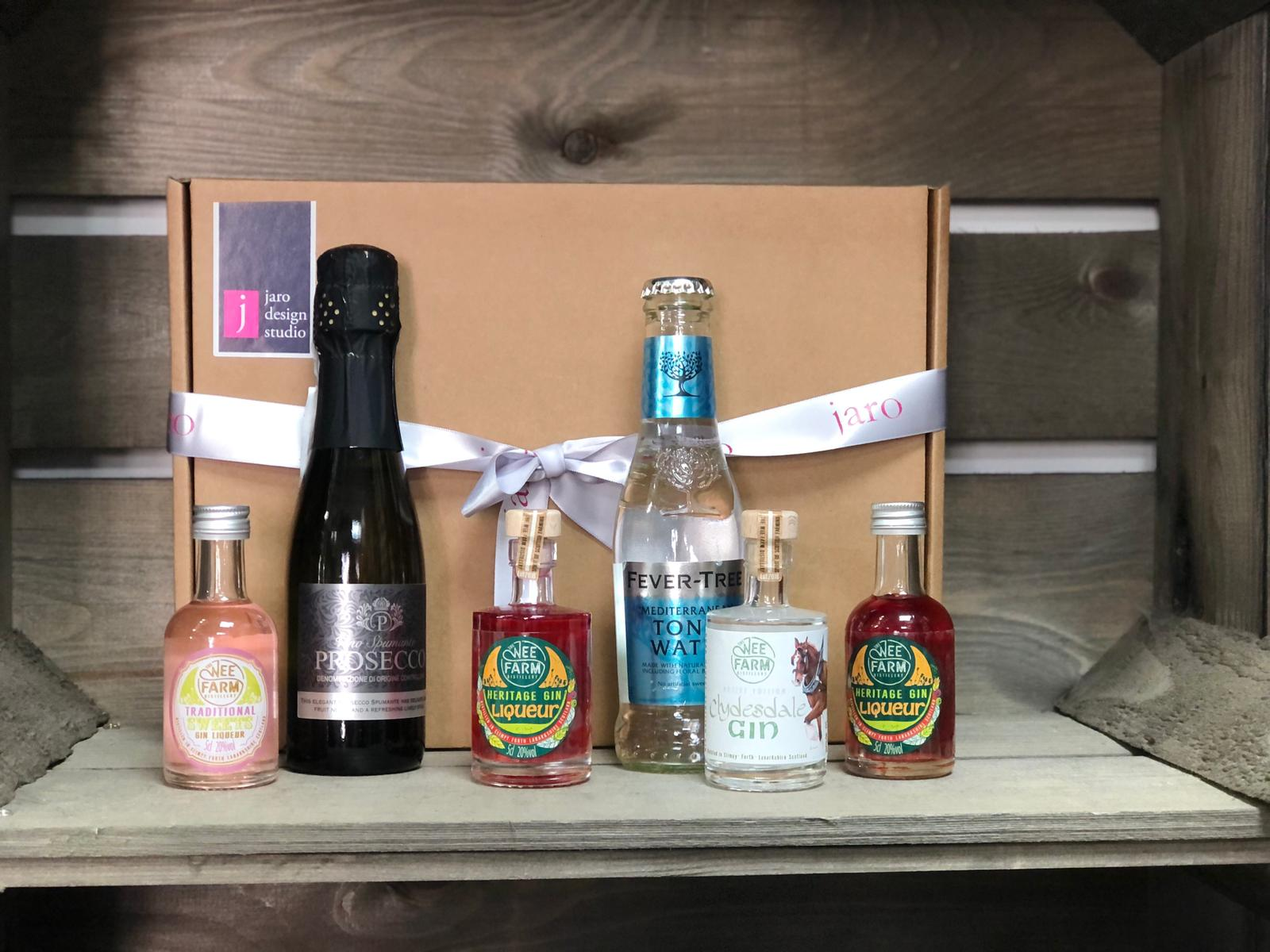"""The Wee Farm Gin """"Limited Edition"""" Tasting Box"""