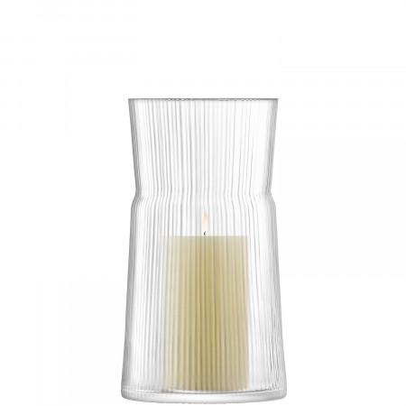 LSA Geo Line Vase / Lantern, 29cm