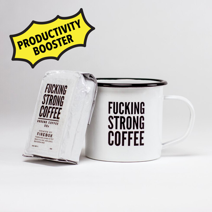 F*cking Strong Coffee Mug Set