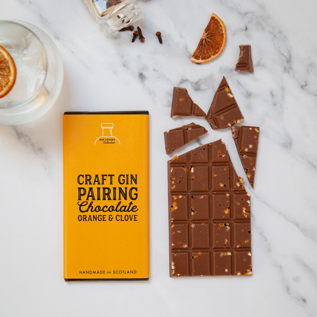 Gin Pairing Chocolate - Orange & Clove