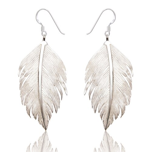 Spoke 925, Hettie Feather Earrings