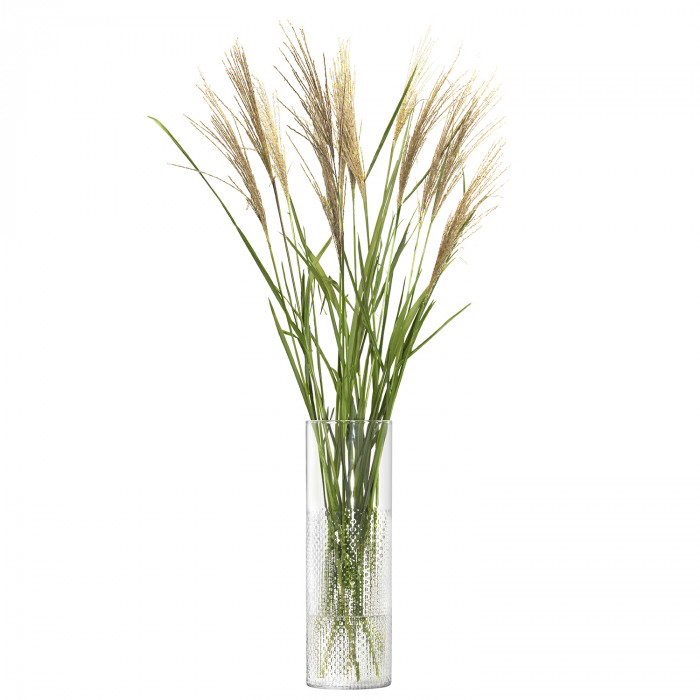 LSA Wicker Vase, Clear - 40cm