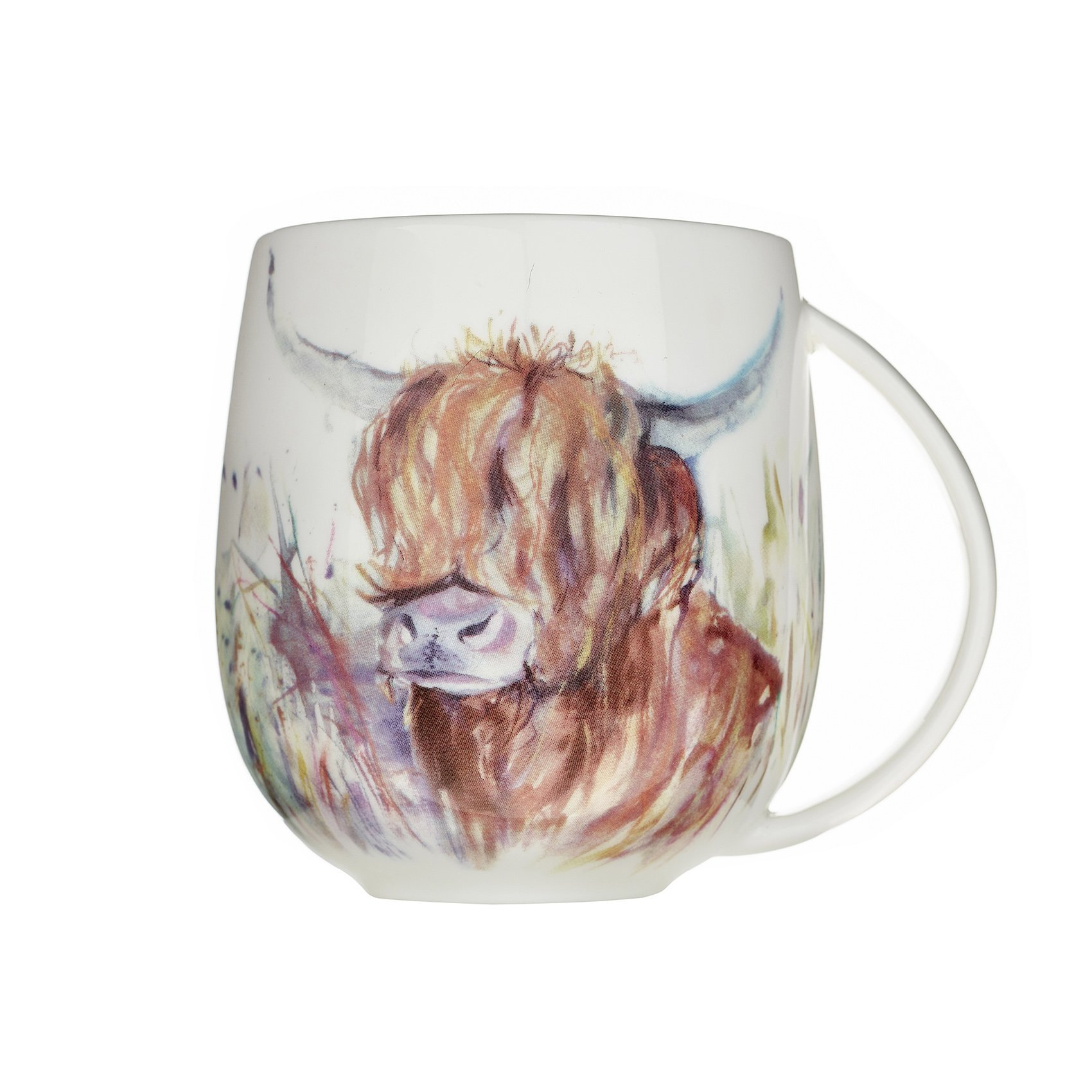 Voyage Highland Cow Ceramic Mug