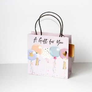 Belly Button Bubble, Balloons Gift Bags