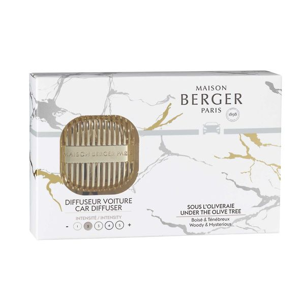Maison Berger Under the Olive Tree Car Diffuser Kit