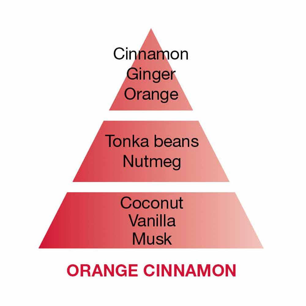 Maison Berger Alliance Orange Cinnamon Scented Bouquet, Red