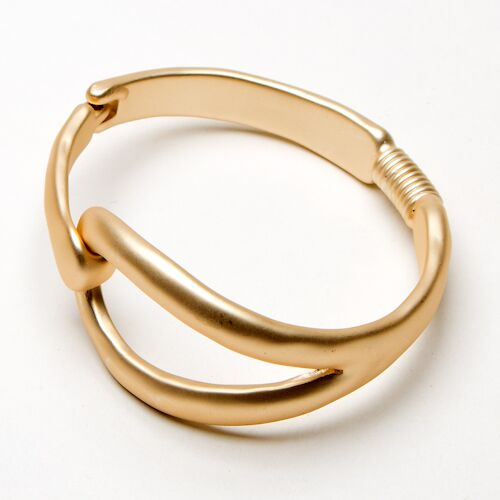 Eliza Gracious Matt Gold Bangle