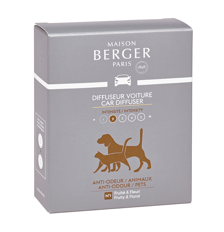 Maison Berger Anti-Odour / Pets Car Diffuser Refill