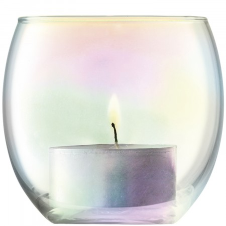 LSA Pearl Tealight Holders, set of 4