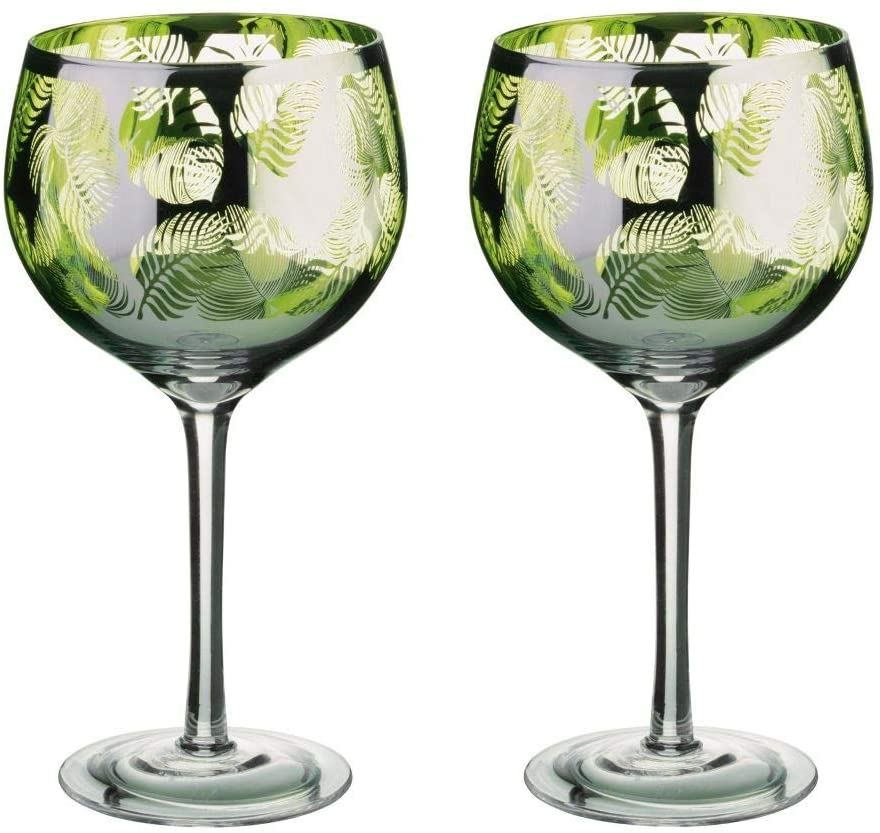 Anton Studio Designs, Tropical Leaves Glassware Range