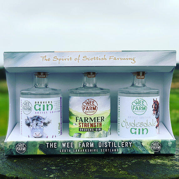 The Wee Farm Distillery, The Spirit Of Scottish Farming Gift Pack