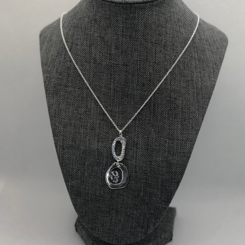 Island Pendant, Sterling Silver By Chris Lewis
