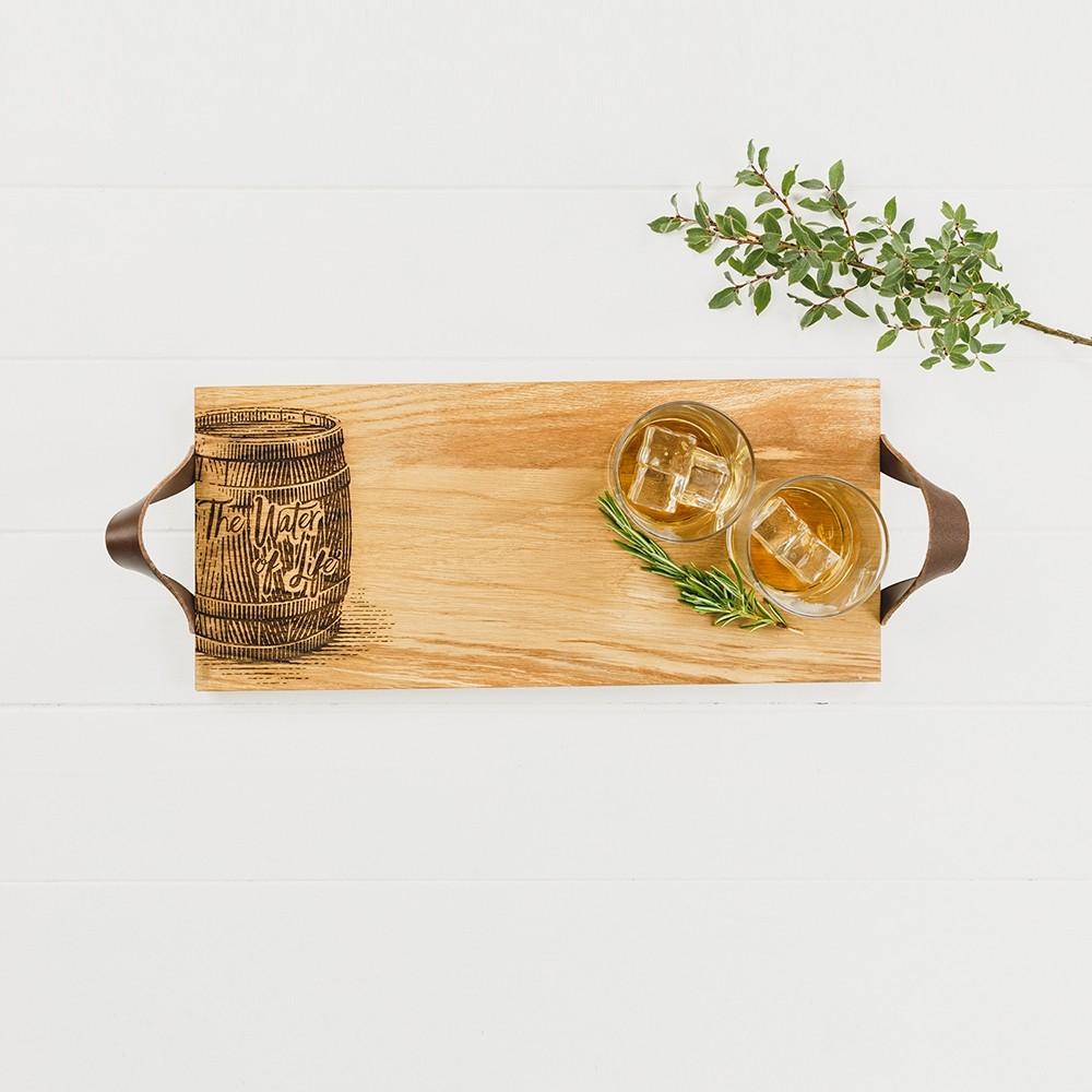 Just Slate, Whisky Oak Tray