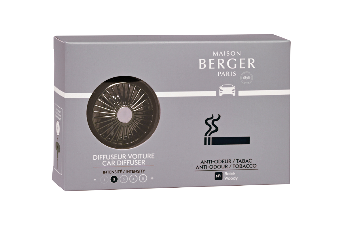 MAISON BERGER PRACTICAL ANTI-ODOUR TOBACCO CAR DIFFUSER
