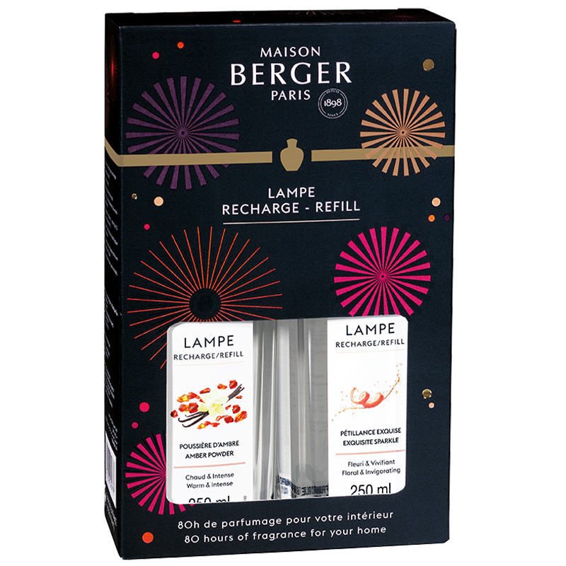 Maison Berger Duo-Pack - Exquisite Sparkle + Amber Powder