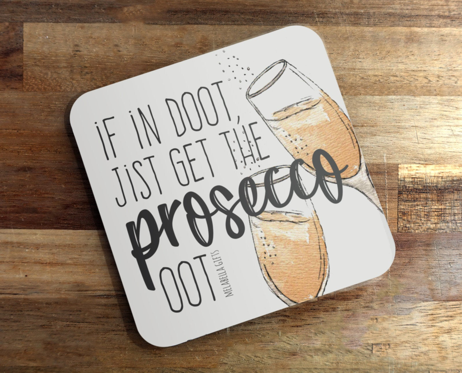 Doric Coaster, Scottish Coaster – Prosecco