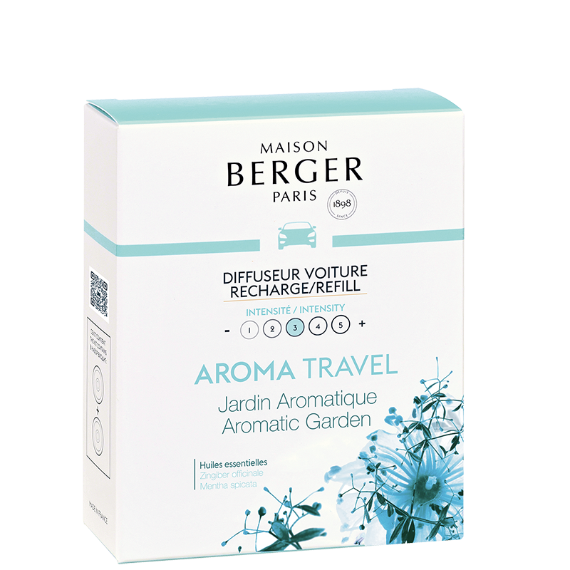 Maison Berger Aroma Travel Car Diffuser Refill