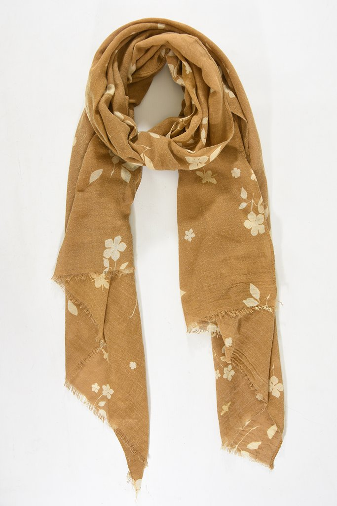MSH Mustard Bumble Bee Scarf