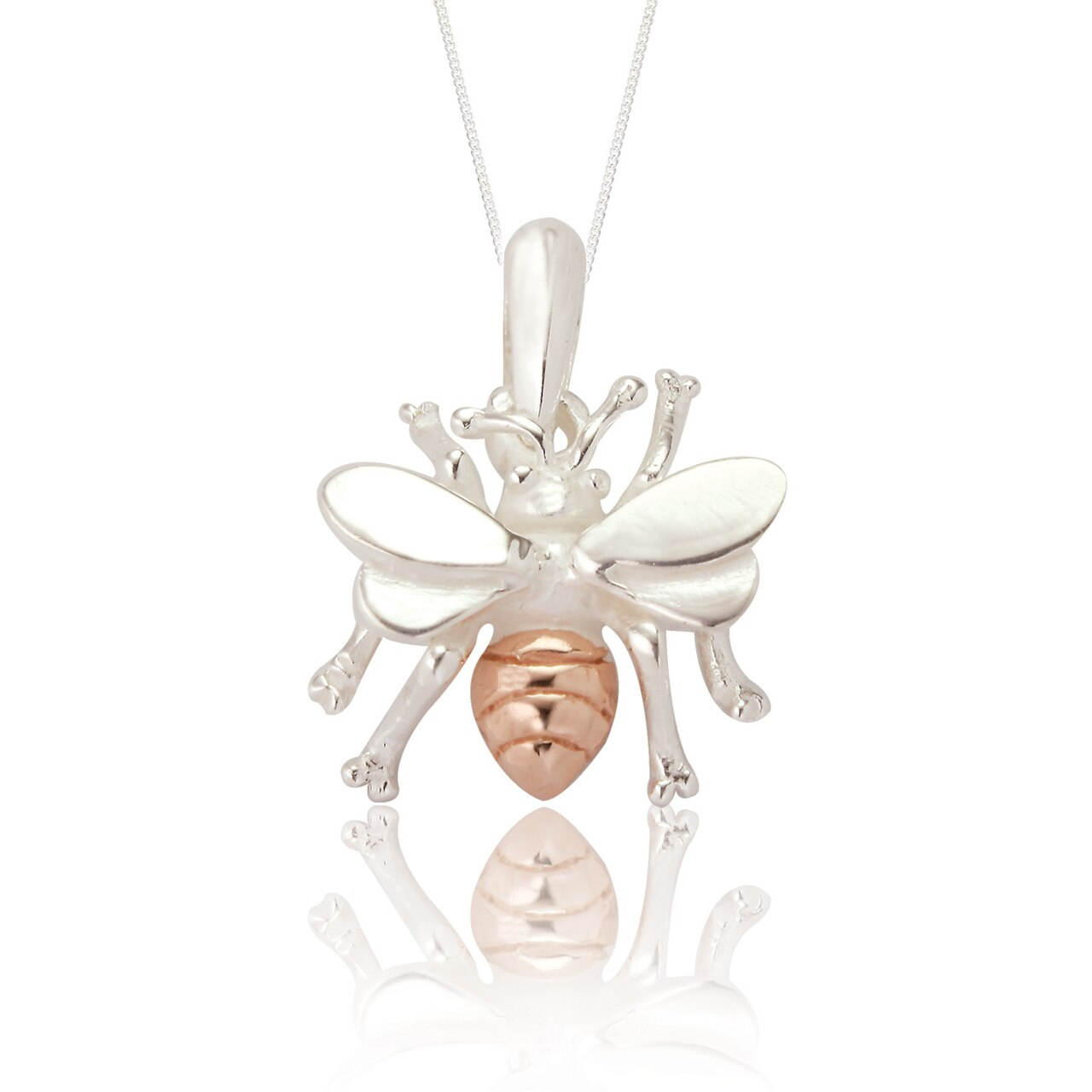 Spoke 925, Bella Bee Pendant and Chain
