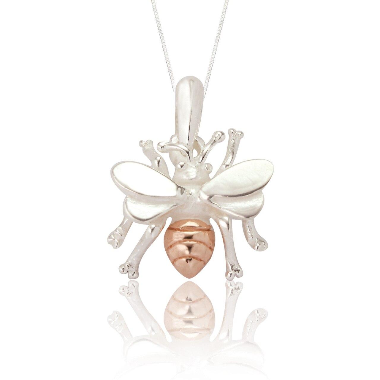 Spoke 925, Bella Bee Pendant and Chain