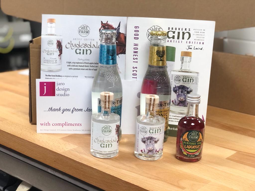 The Wee Farm Gin Tasting Box
