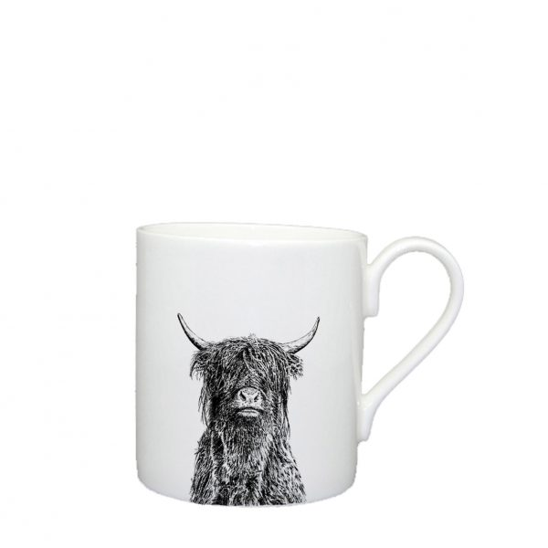 Little Weavers Arts, Crafty Coo, Large Mug
