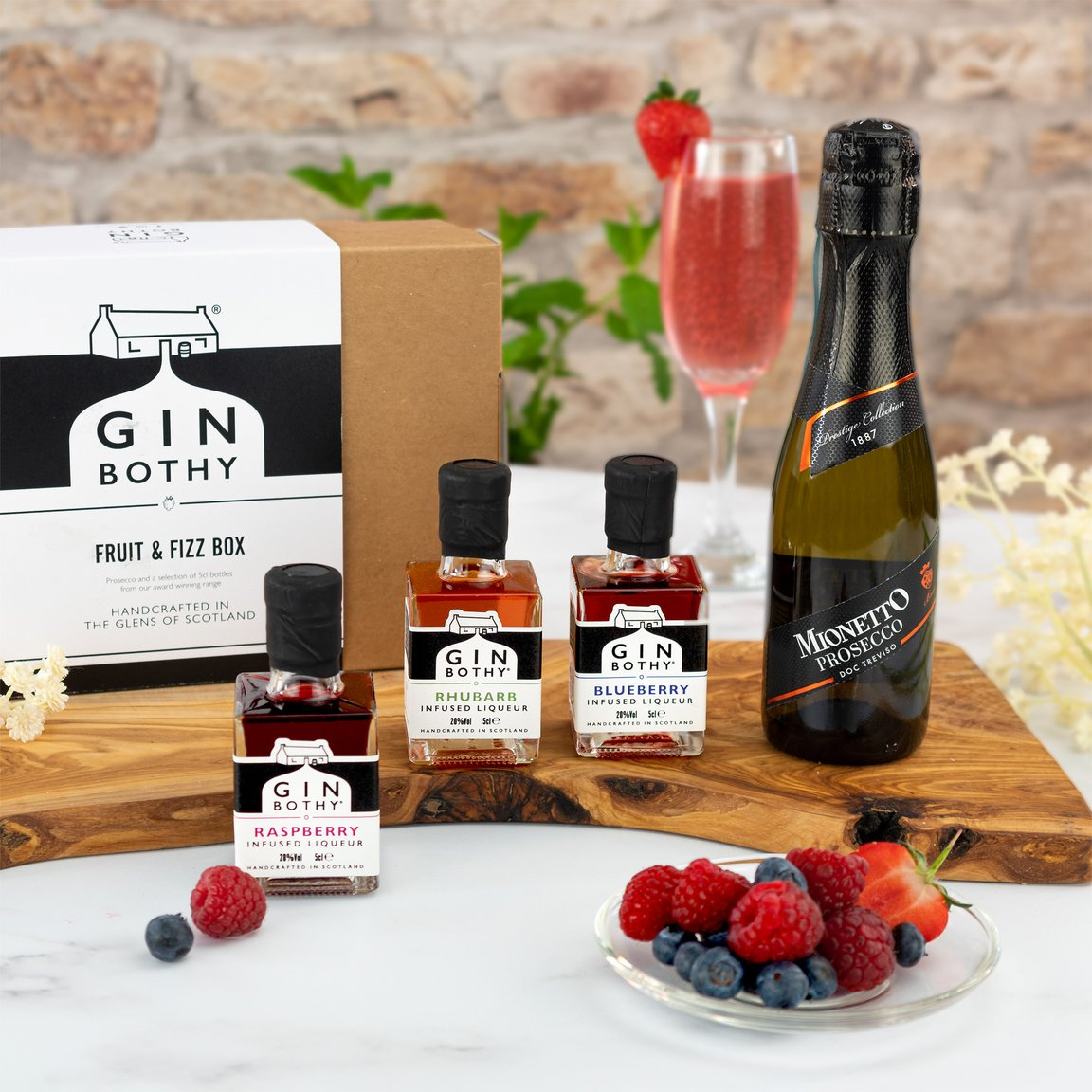 Gin Bothy - Fruit and Fizz Gifting Box