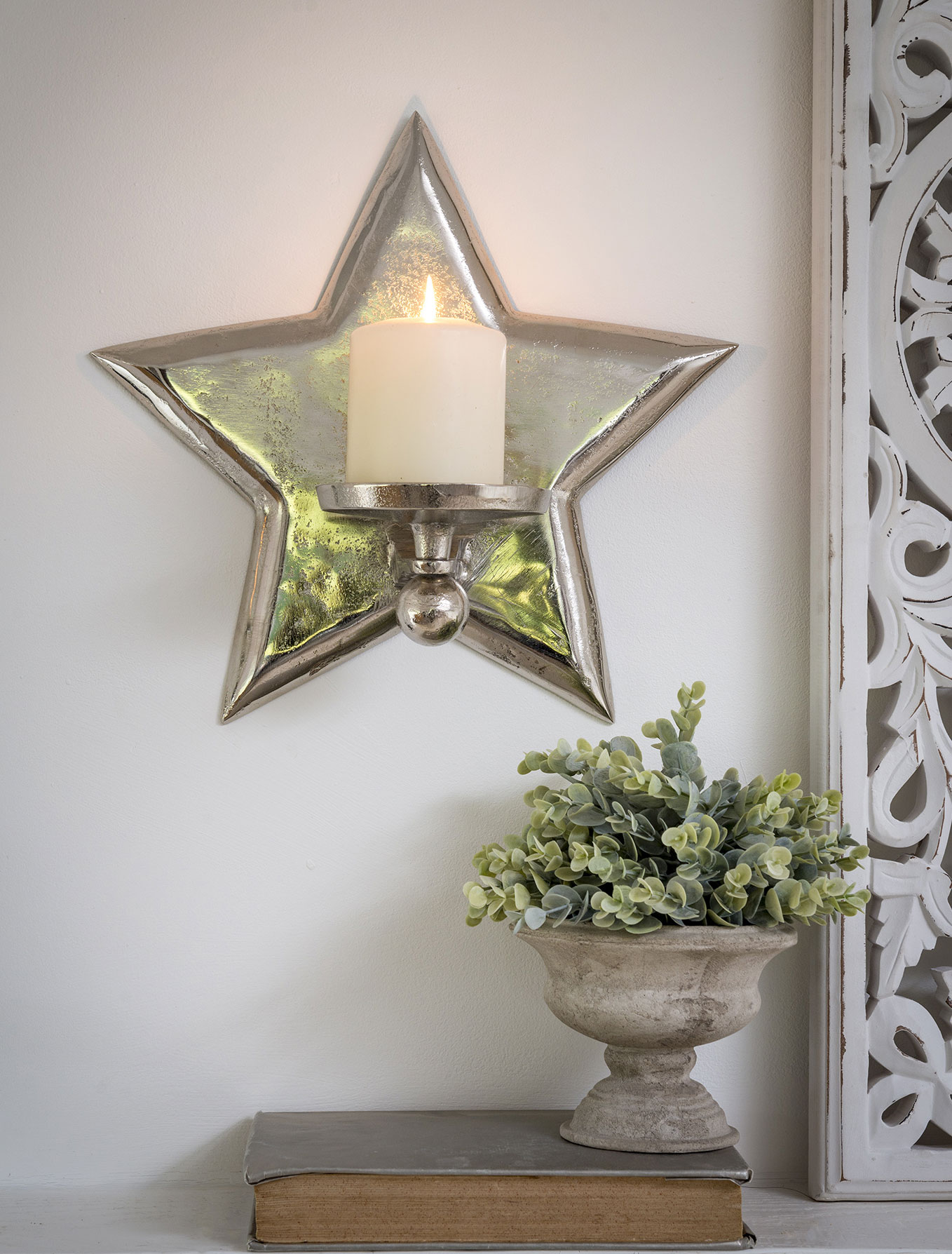 Star Wall Sconce, Large