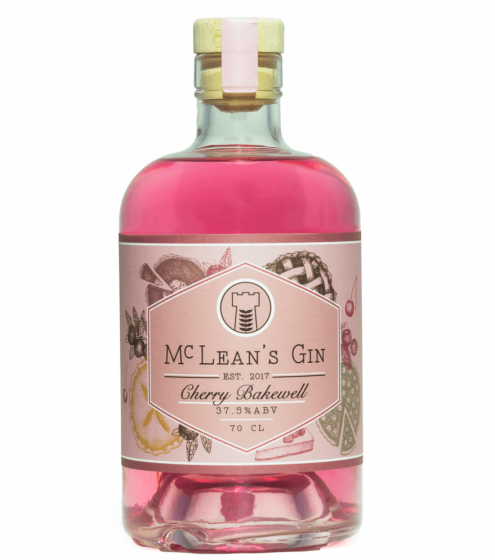 McLeans Cherry Bakewell Gin