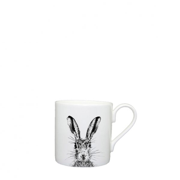 Little Weavers Arts, Sassy Hare, Espresso Cup