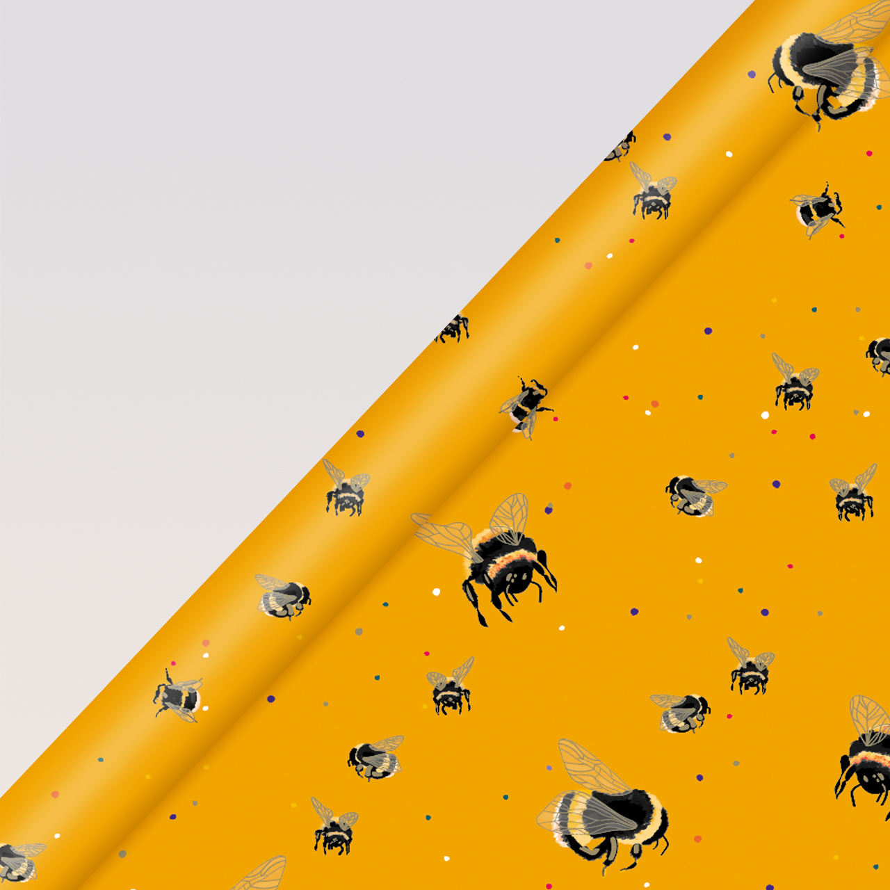 Belly Button Bubble, 3M Luxury Roll Wrap - Bee