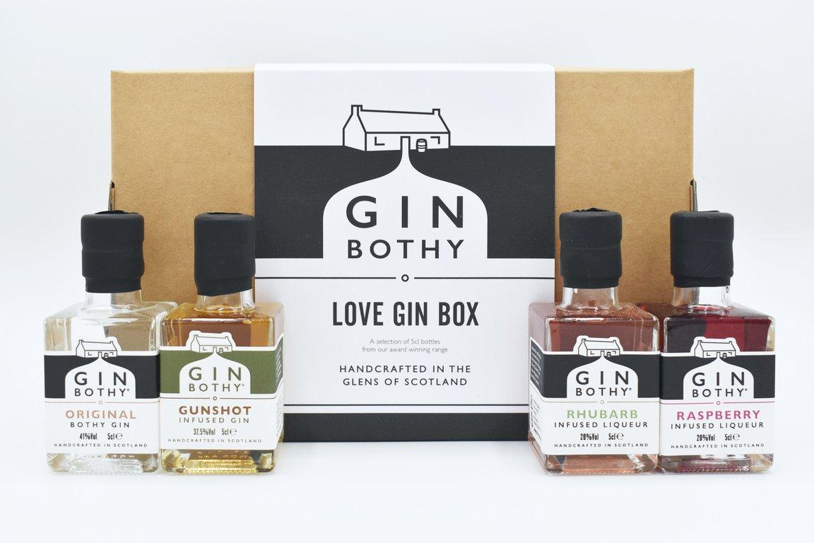 Gin Bothy - Love Gin Gifting Box