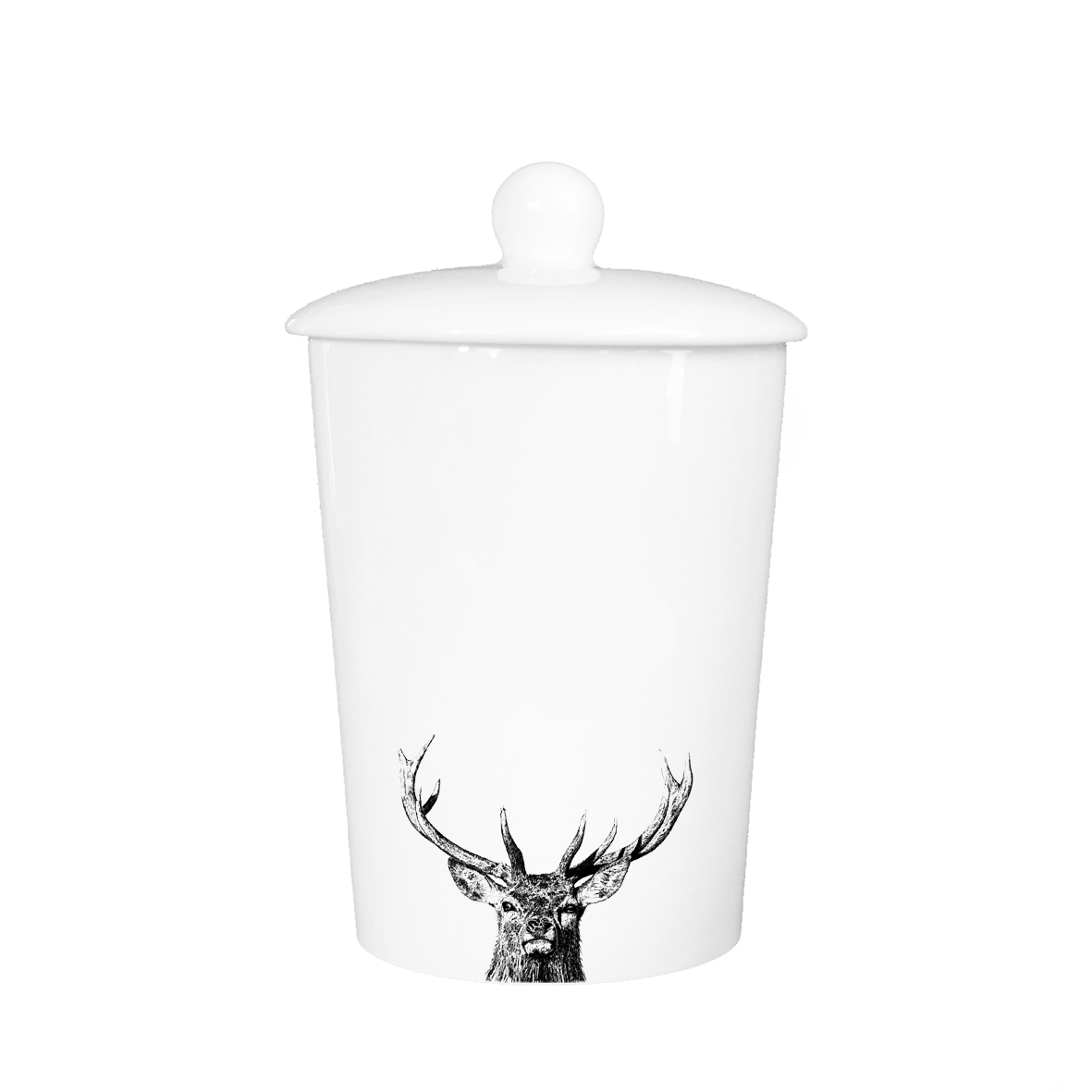 Little Weavers Arts, Majestic Stag, Storage Jar