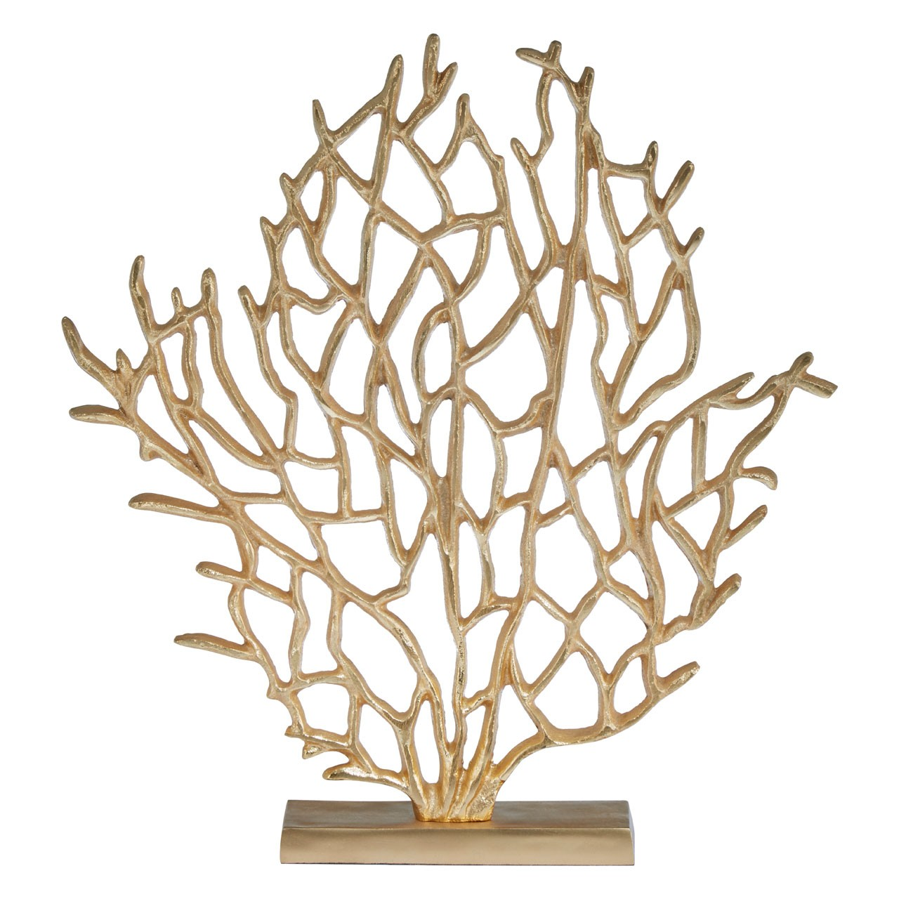 Prato Large Tree Sculpture, Gold