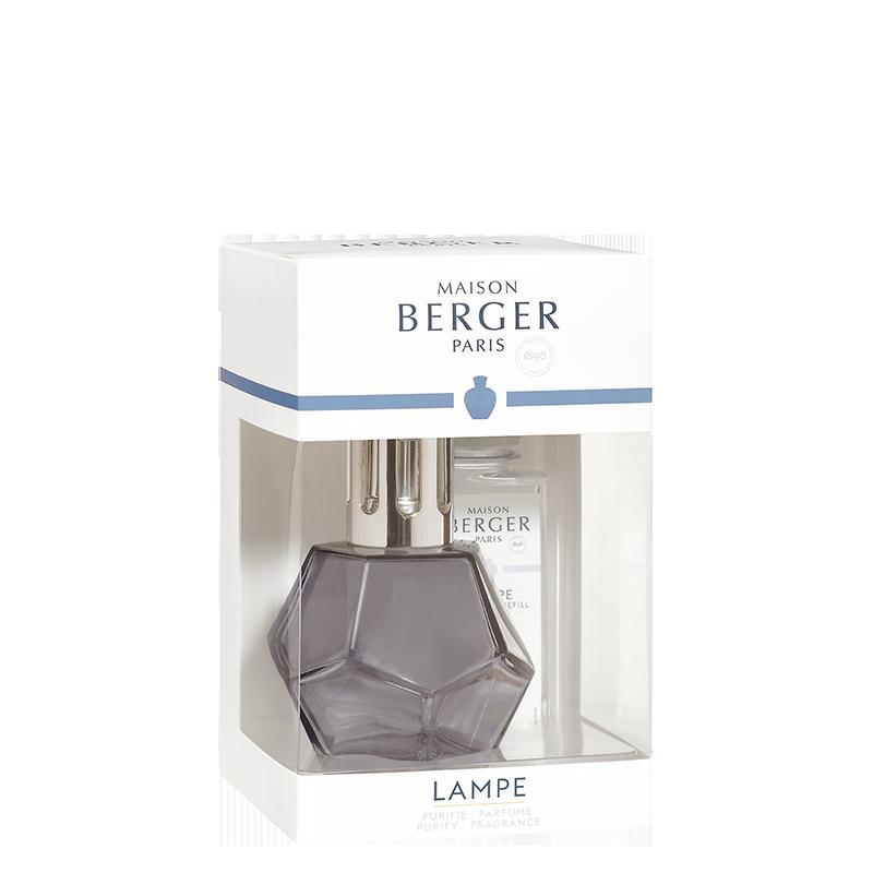 Maison Berger Geometry Lamp Gift Pack, Grey
