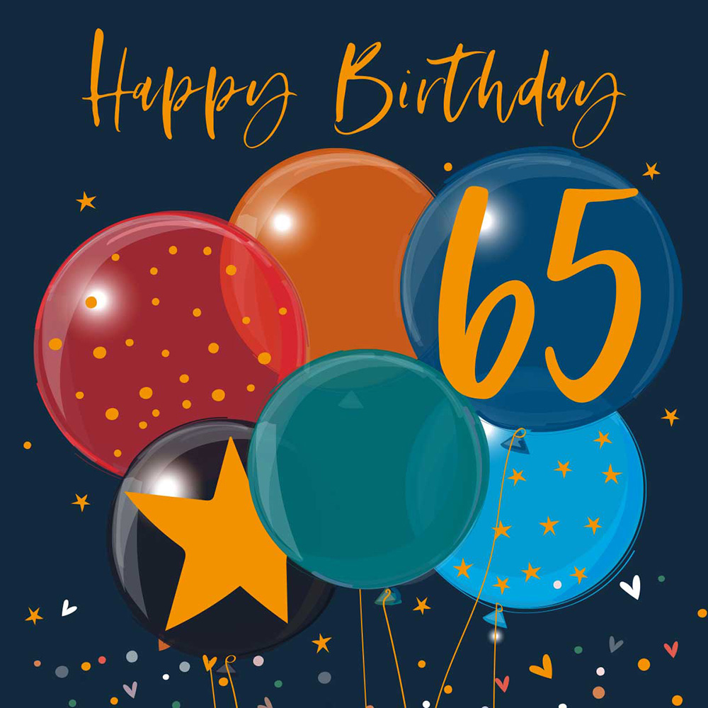 Belly Button Designs, 65th Birthday Balloons