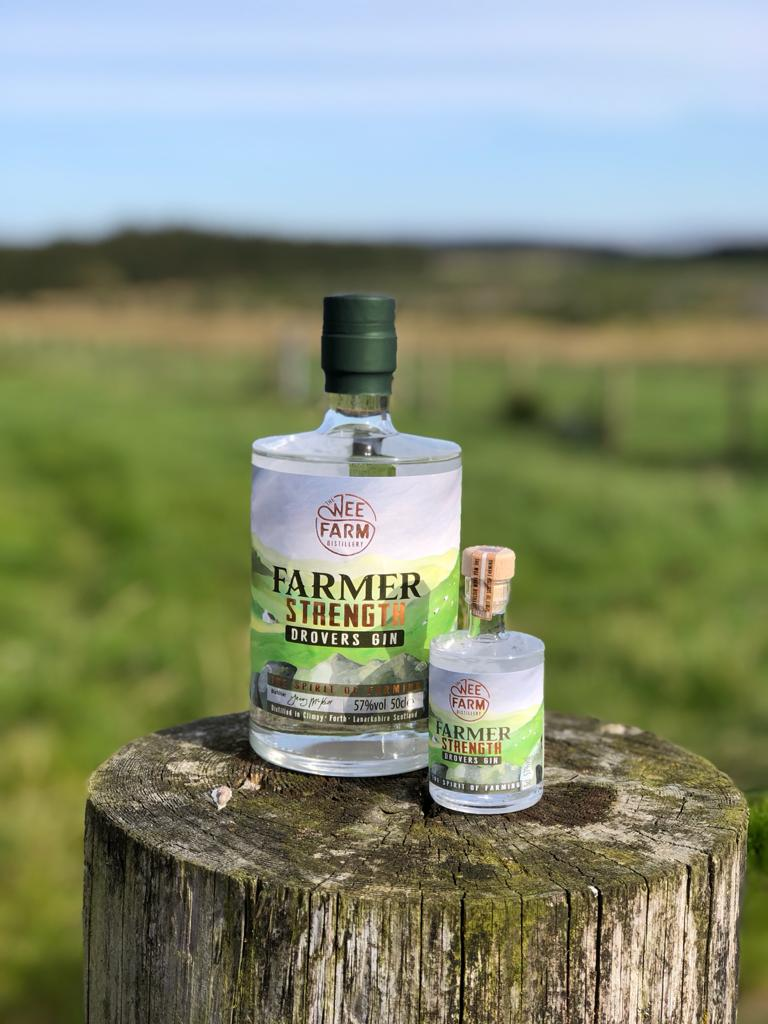 The Wee Farm, Farmers Strength Drovers Gin