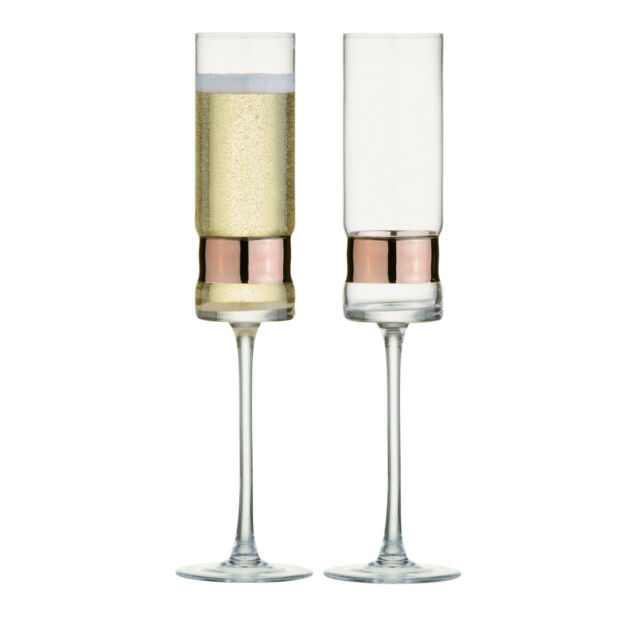 Anton Studio Designs, Soho Glassware Range, Bronze - Sets of 2