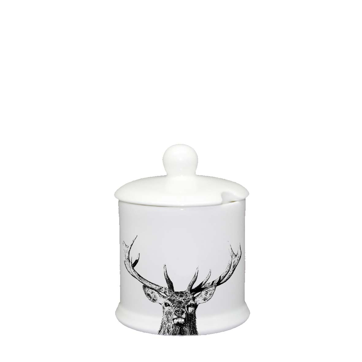Little Weavers Arts, Majestic Stag, Condiments Jar