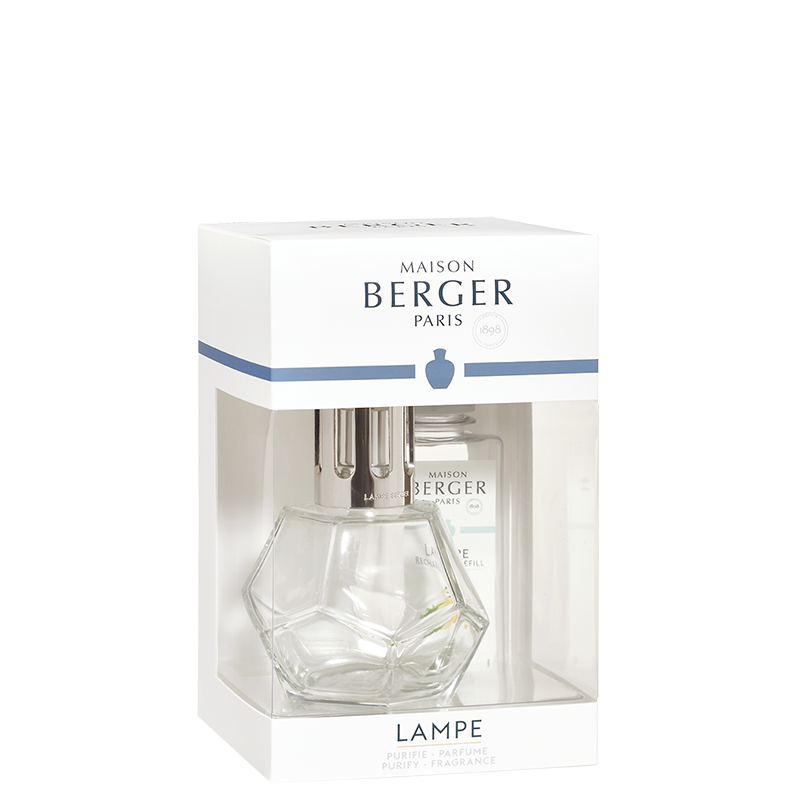 Maison Berger Geometry Lamp Gift Pack, Clear