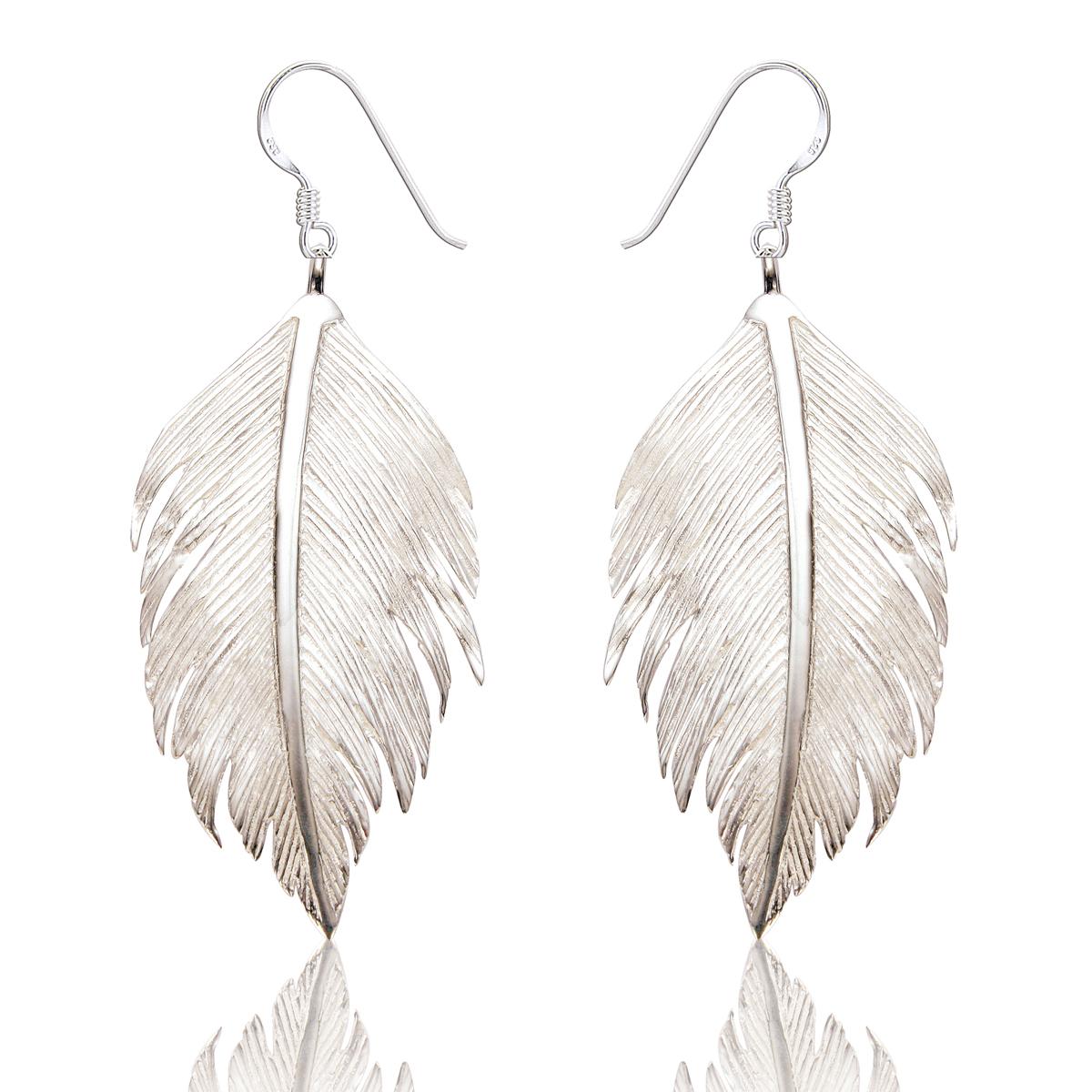 Spoke 925, Hettie Feather Earrings