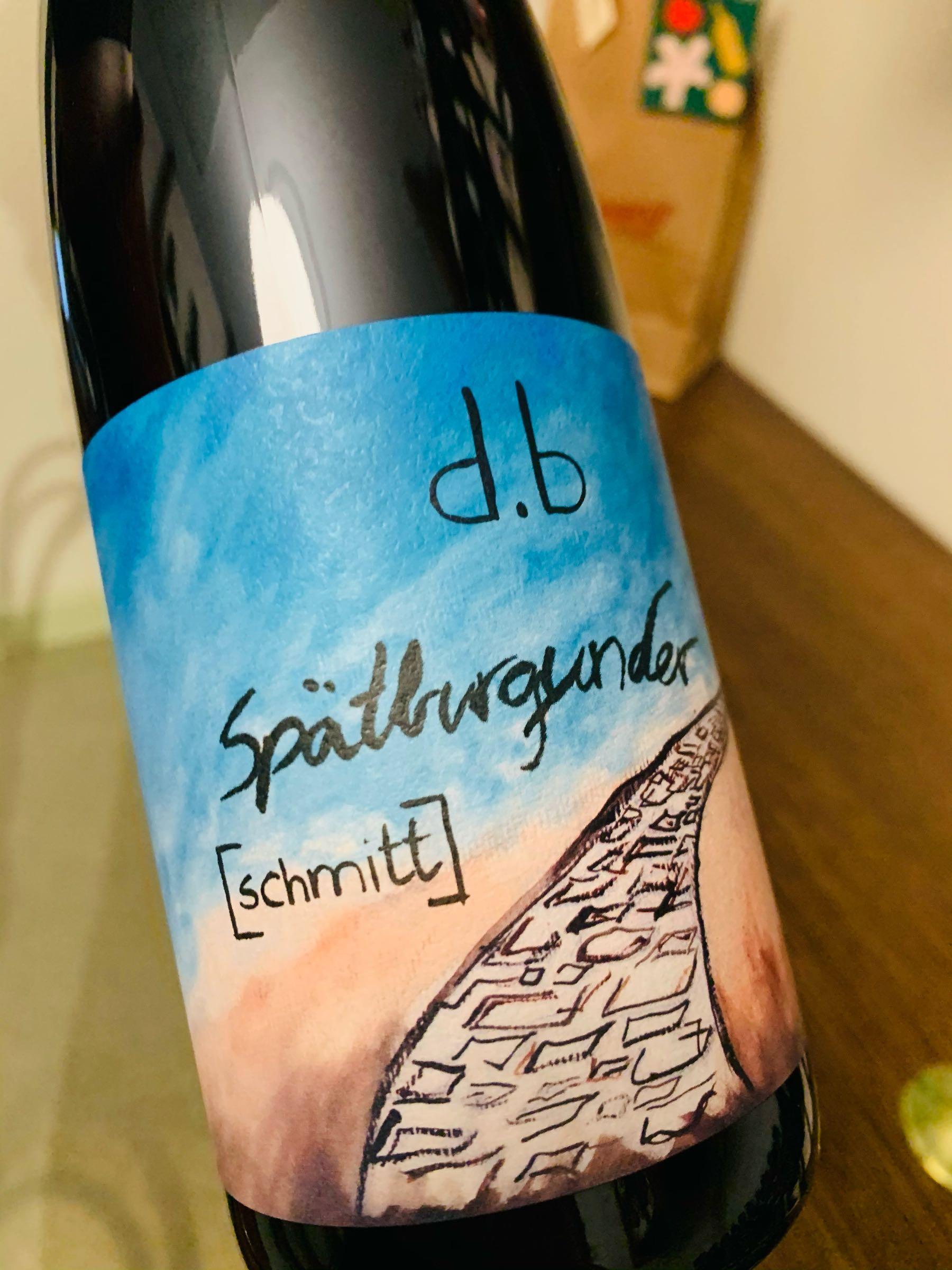 Spätburgunder Natur 2019 - Weingut Schmitt