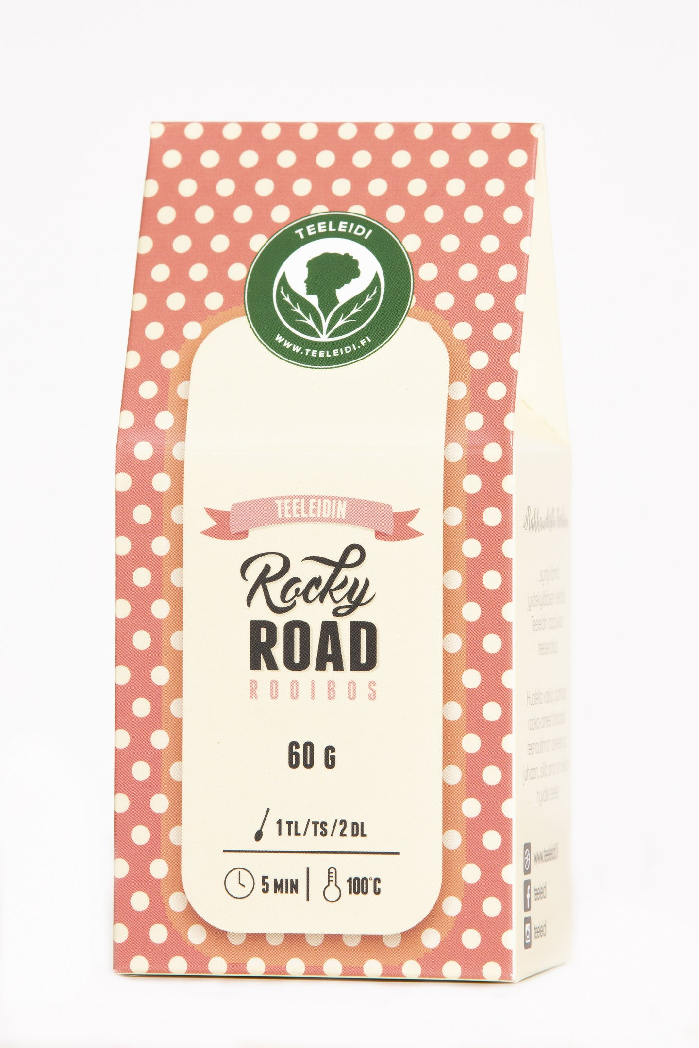 Rocky Road 60g rooibos