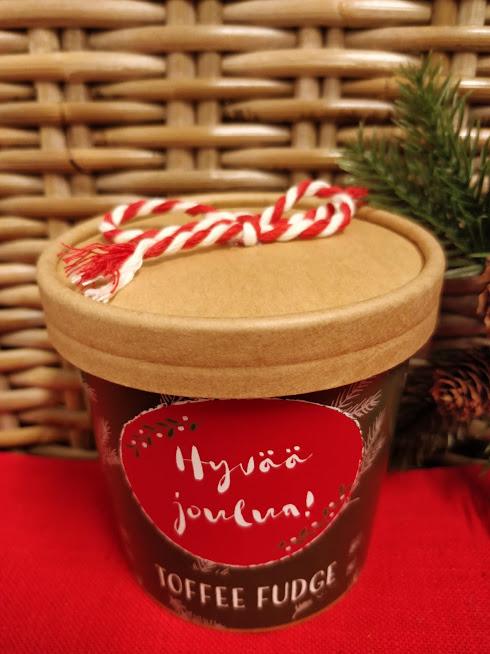 Hyvää Joulua Toffee fudge 150g