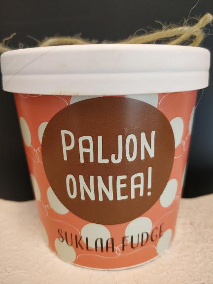 Toffee Fudge Paljon Onnea 150g