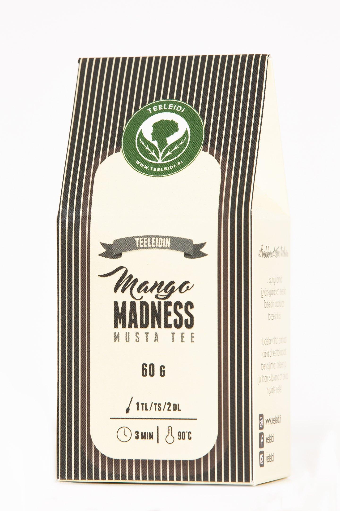 TL Mango Madnes 60g mustatee